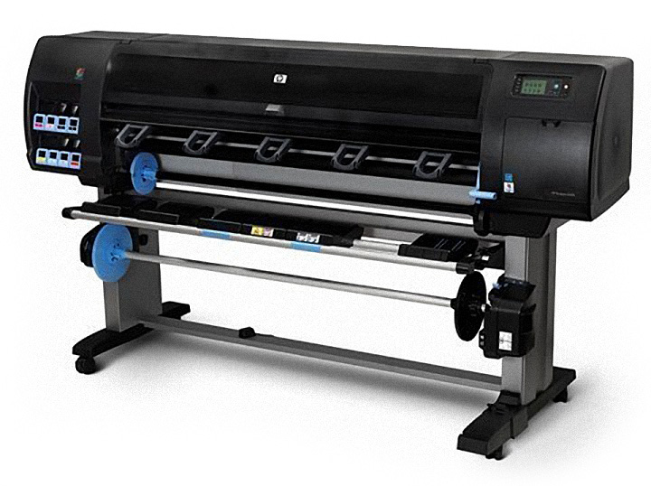 Large format printing with HP Z6100PS 60-inch printer