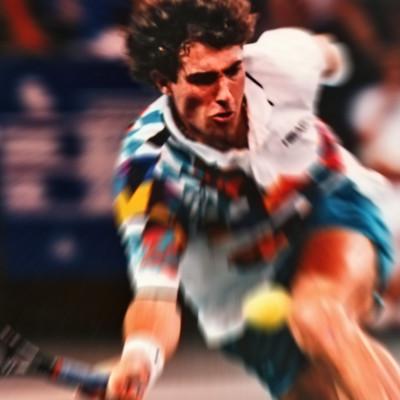 World Team Tennis action