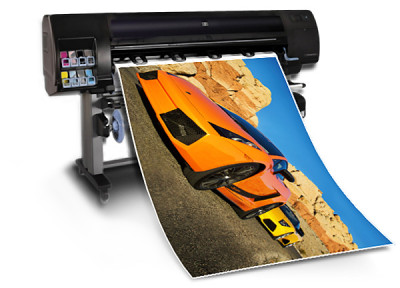 Photo and graphic art printing with the HP Z6100PS 60-inch printer